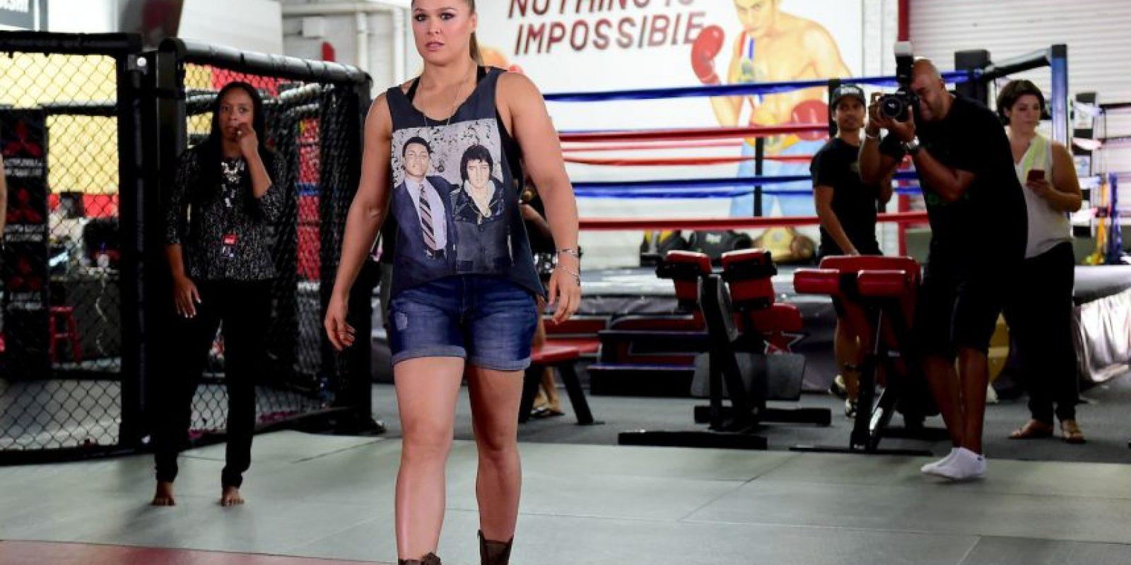 3. Ronda Rousey (Peleadora) Foto:Getty Images