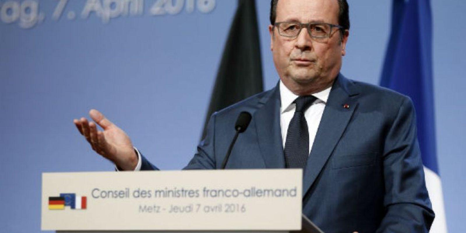 Francois Hollande. Político francés que desde 2012 es el presidente de Francia. Foto:Getty Images