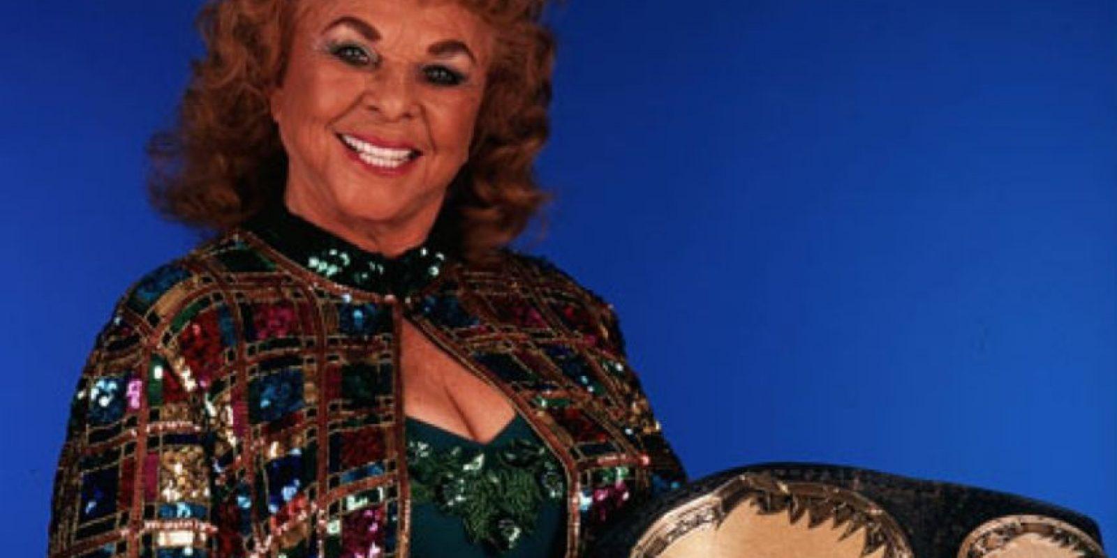 Fue inducida en 1995 y falleció en 2007 a los 84 años Foto:WWE
