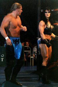 En 1998, junto a Triple H Foto:WWE