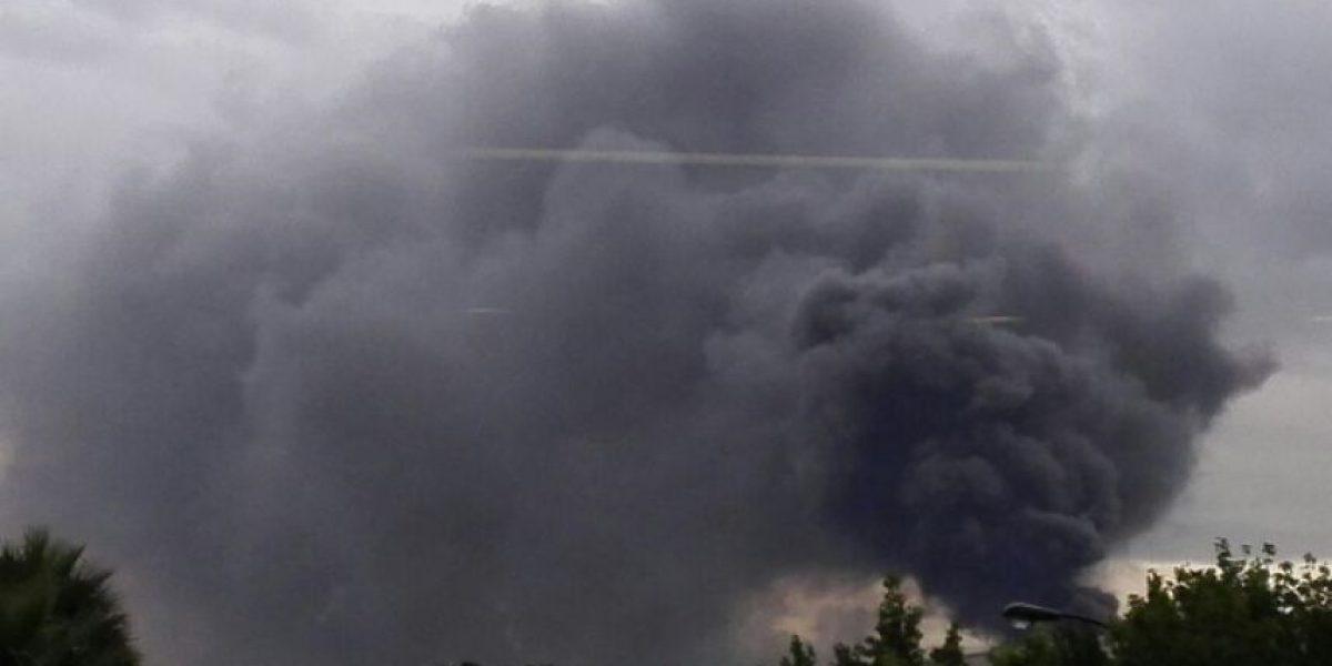 Grave incendio en una fábrica de Fontibón, al occidente de Bogotá