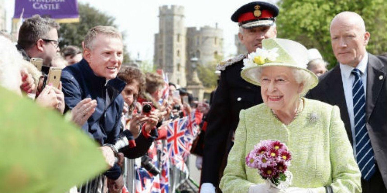 Este 21 de abril la soberana cumplió sus 90 años. Foto:AP
