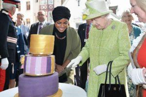 Nadiya Hussain fue la mujer que horneó el pastel de cumpleaños de la Reina. Foto:AP