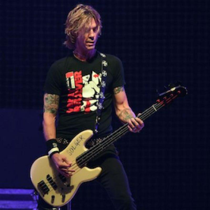 """Además es guitarrista de la banda """"Loaded"""". Foto:Getty Images"""