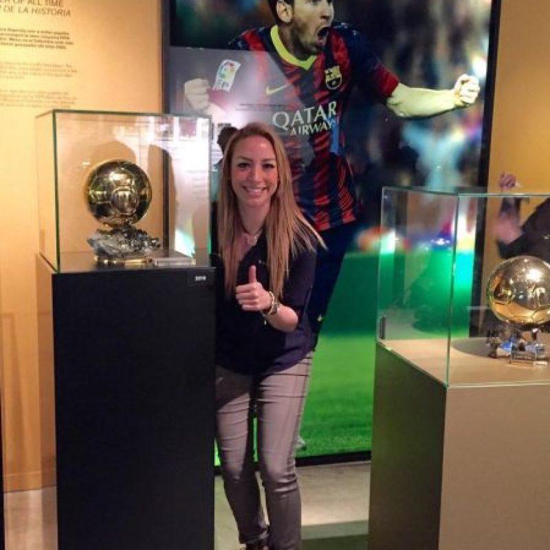 Y de Lionel Messi Foto:Vía www.instagram.com/babywingz
