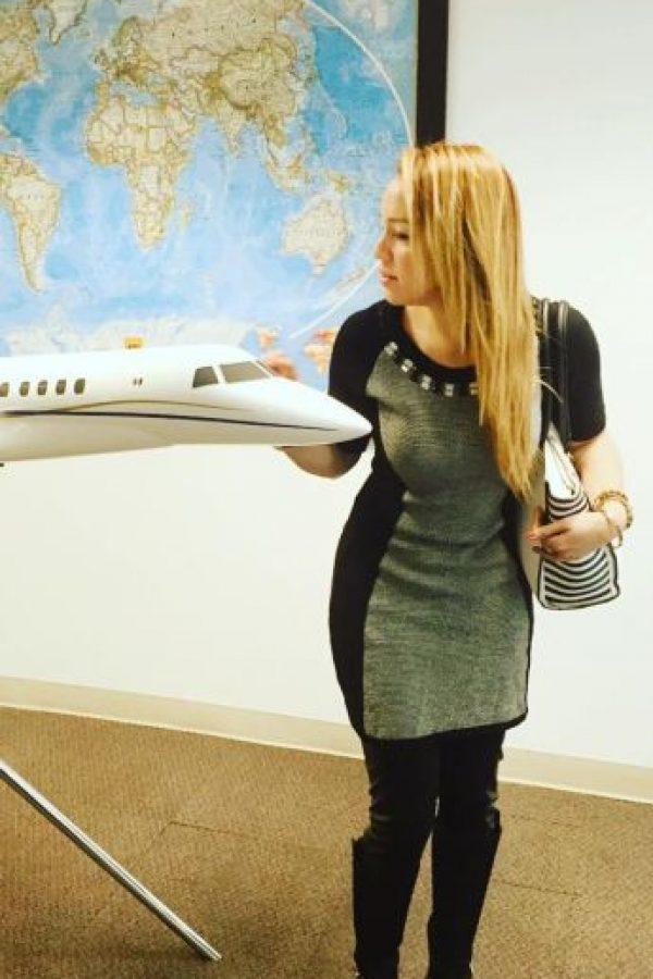 Es amiga y piloto del jet privado de Cristiano Ronaldo Foto:Vía www.instagram.com/babywingz