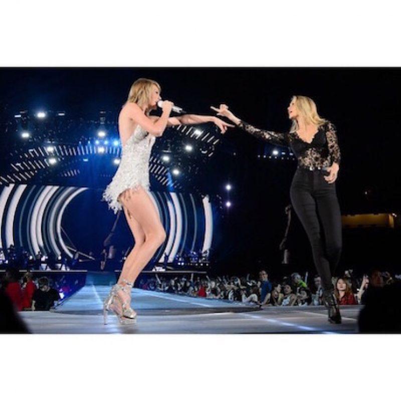 También aparece en el video Bad Blood de Taylor Swift . Foto:Instagram.com/gigihadid