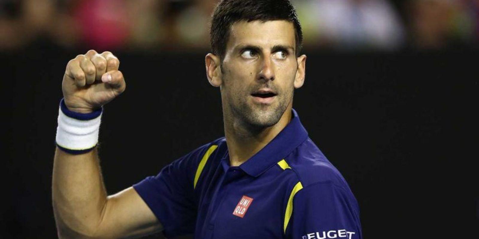 """Novak Djokovic: """"Los Juegos del Hambre"""" de Suzanne Collins. Foto:Getty Images"""