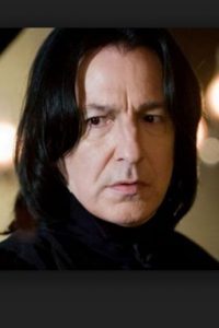"""Alan Rickman, mejor conocido como """"Snape"""" en el universo de """"Harry Potter"""". Foto:Getty Images"""