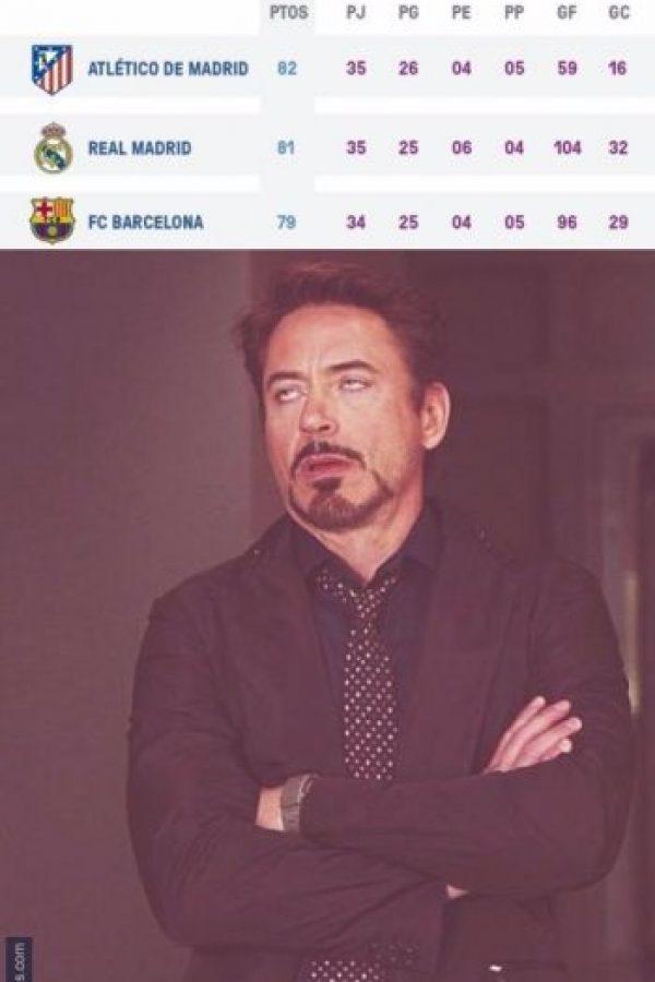 El Barça antes de jugar. Foto:memedeportes.com