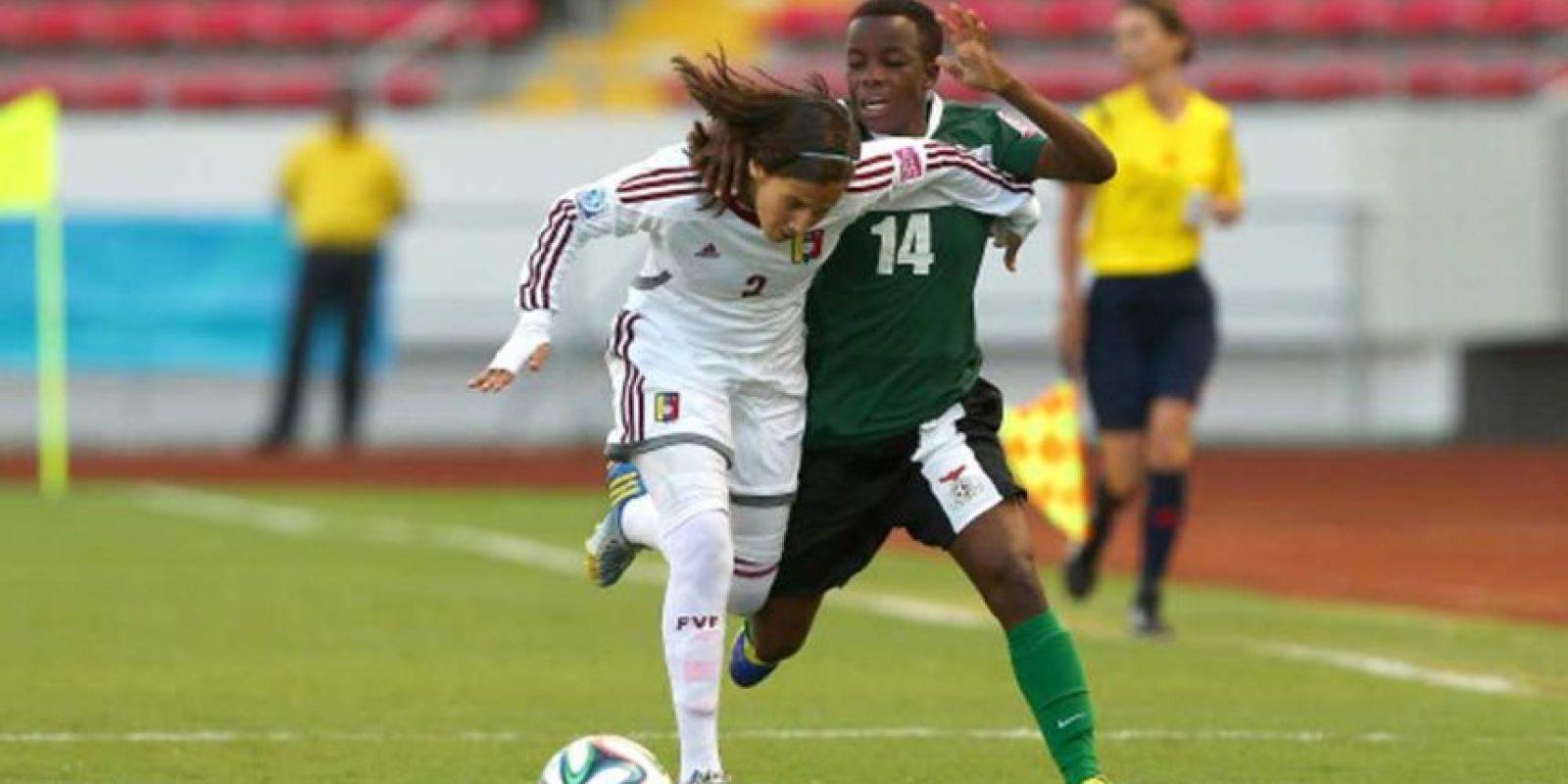 Pero a los 12 ya había obtenido otro logro: ser la jugadora más joven en jugar la Copa Libertadores (femenina) Foto:Getty Images