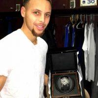 Tiene un anillo de la NBA, el cual ganó en 2015. Foto:Vía instagram.com/stephencurry30
