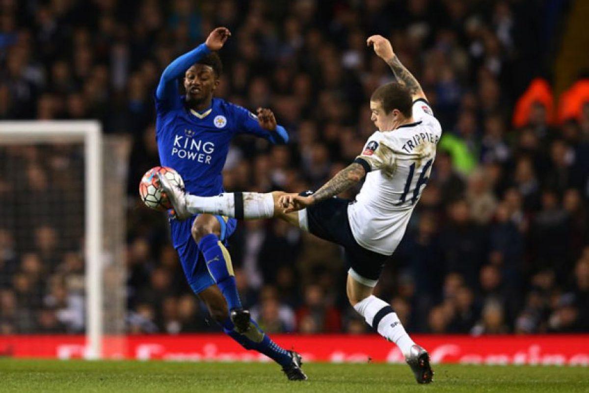 En esta campaña, Gray tiene 9 apariciones con Leicester City en la Premier League. Foto:Getty Images