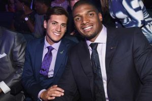 Michael Sam y Vito Cammisano Foto: Getty Images