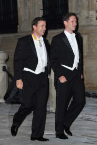 Xavier Bettel y Gauthier Destinay Foto: Getty Images