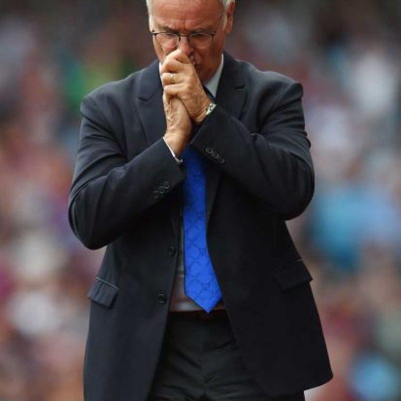 El DT de Leicester City es el candidato principal para reemplazar a Antonio Conte en la Selección de Italia. Foto:Getty Images