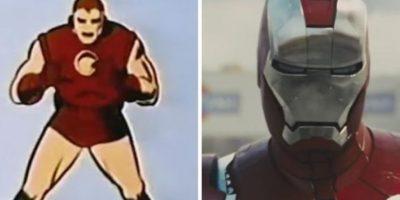 """Todas las transformaciones del líder de """"Los Vengadores"""" en cine y televisión. Foto:Marvel Comics"""