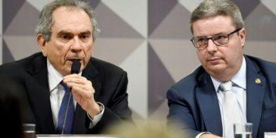 Este martes, la oposición brasileña obtuvo dos principales cargos de la comisión de senadores. Foto:AFP