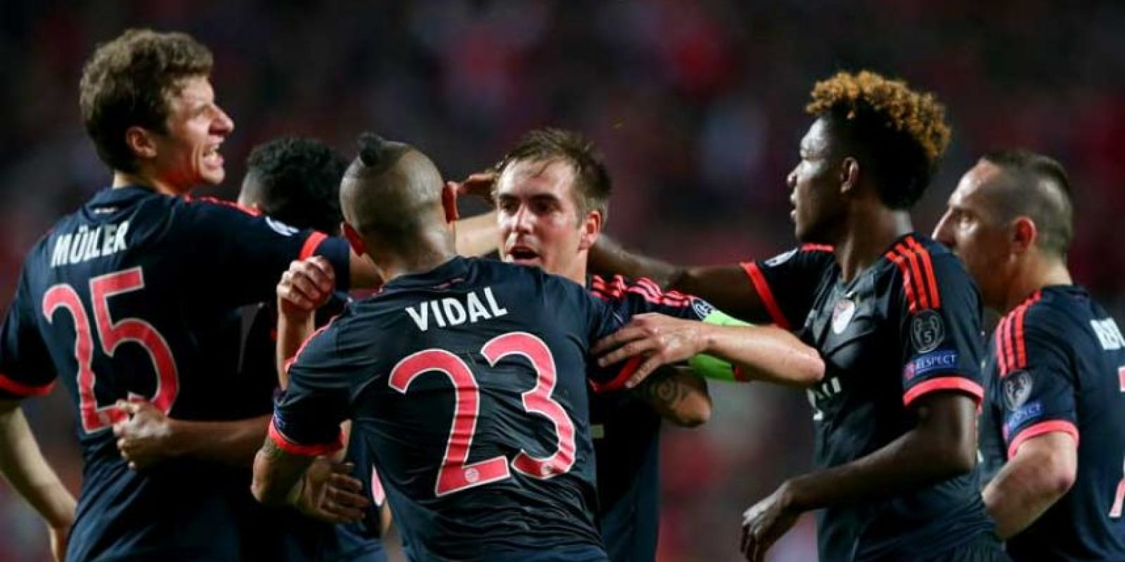 En octavos de final tuvieron una dura batalla contra la Juventus. Foto:Getty Images