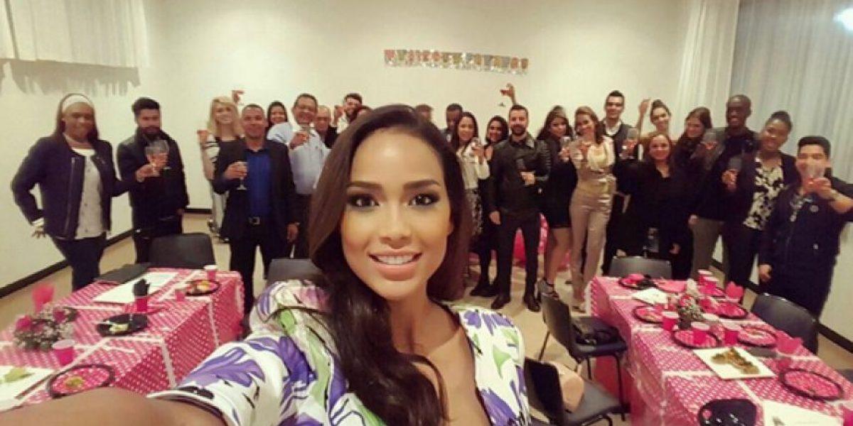 La Señorita Colombia Andrea Tovar se defiende ante las críticas