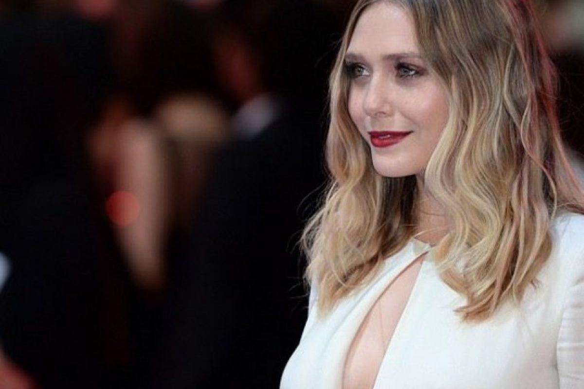 Usó un vestido largo de color marfil. Foto:Getty Images