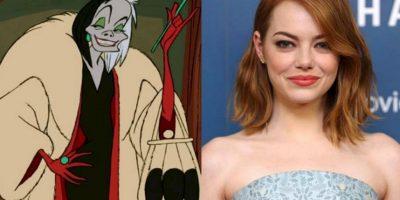Cruella de Vill será ¡Emma Stone Foto:Getty Images/Disney