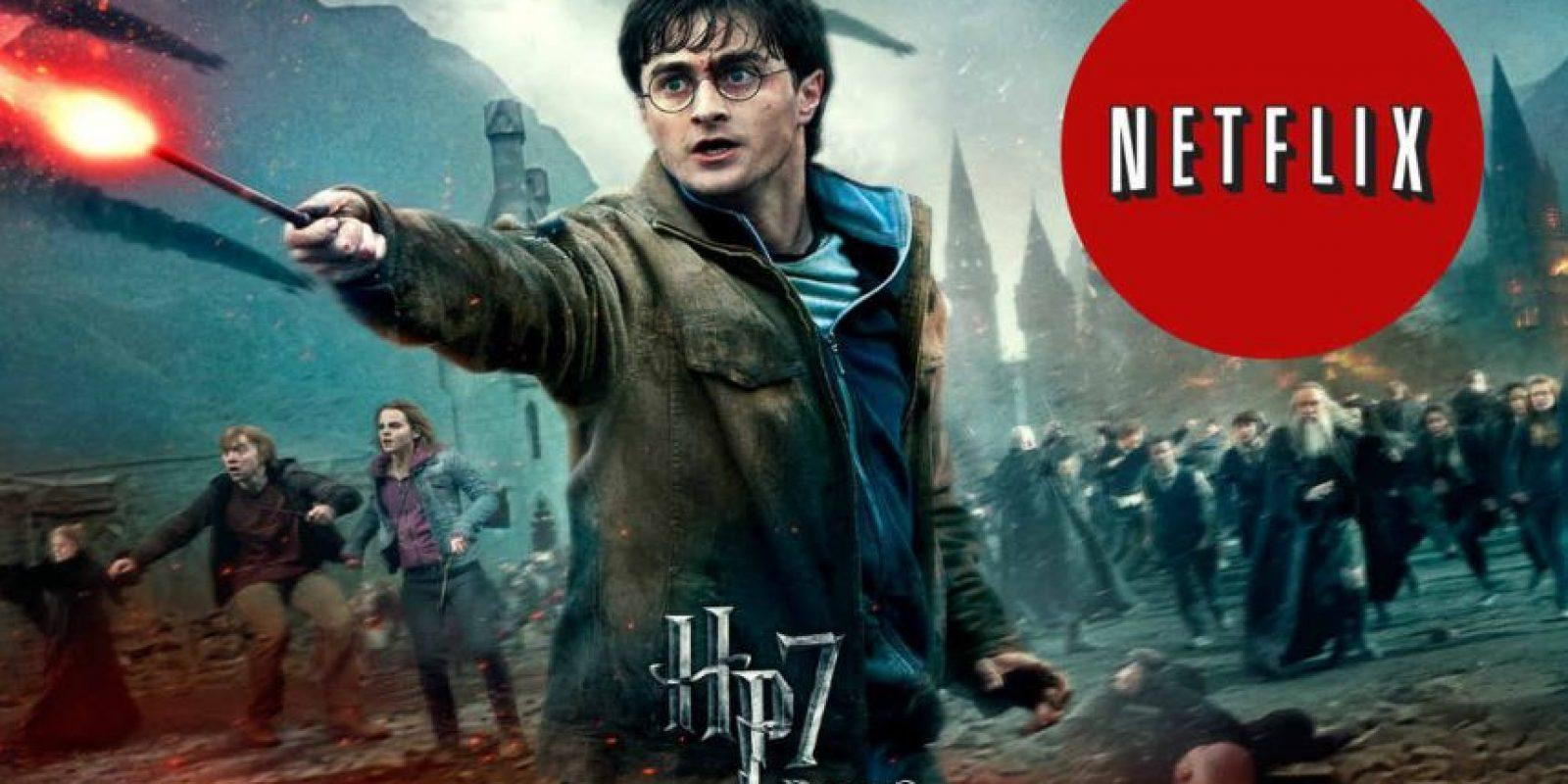 """""""Harry Potter y las Reliquias de la Muerte: parte 2"""" es la última entrega de la saga. Foto:WB/Netflix"""