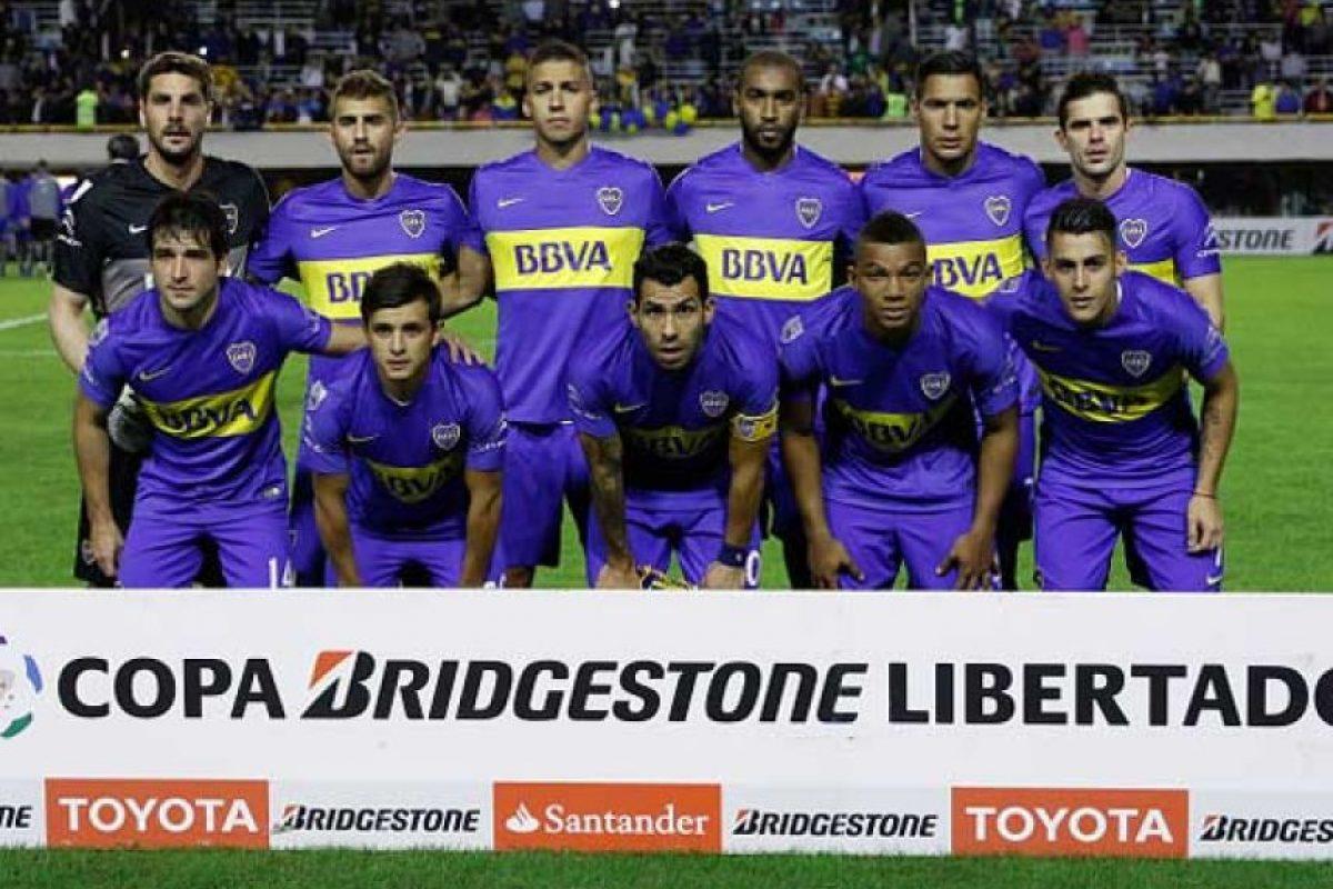 Boca Juniors enfrenta a Cerro Porteño en los octavos de final de la Copa Libertadores. Foto:Getty Images