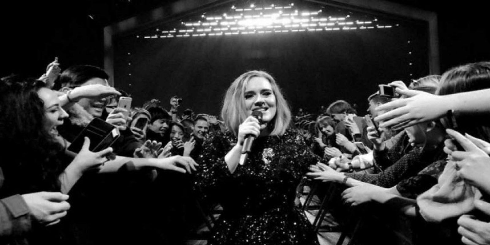 2.- Adele Foto:Instagram