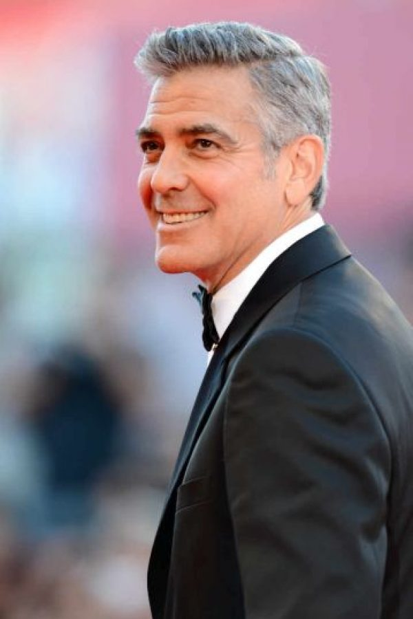 3.- George Clooney Foto: Getty Images