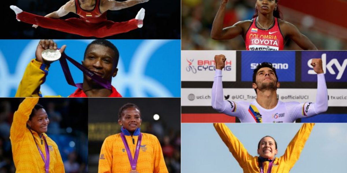 Los candidatos a ser el abanderado de Colombia en Río 2016