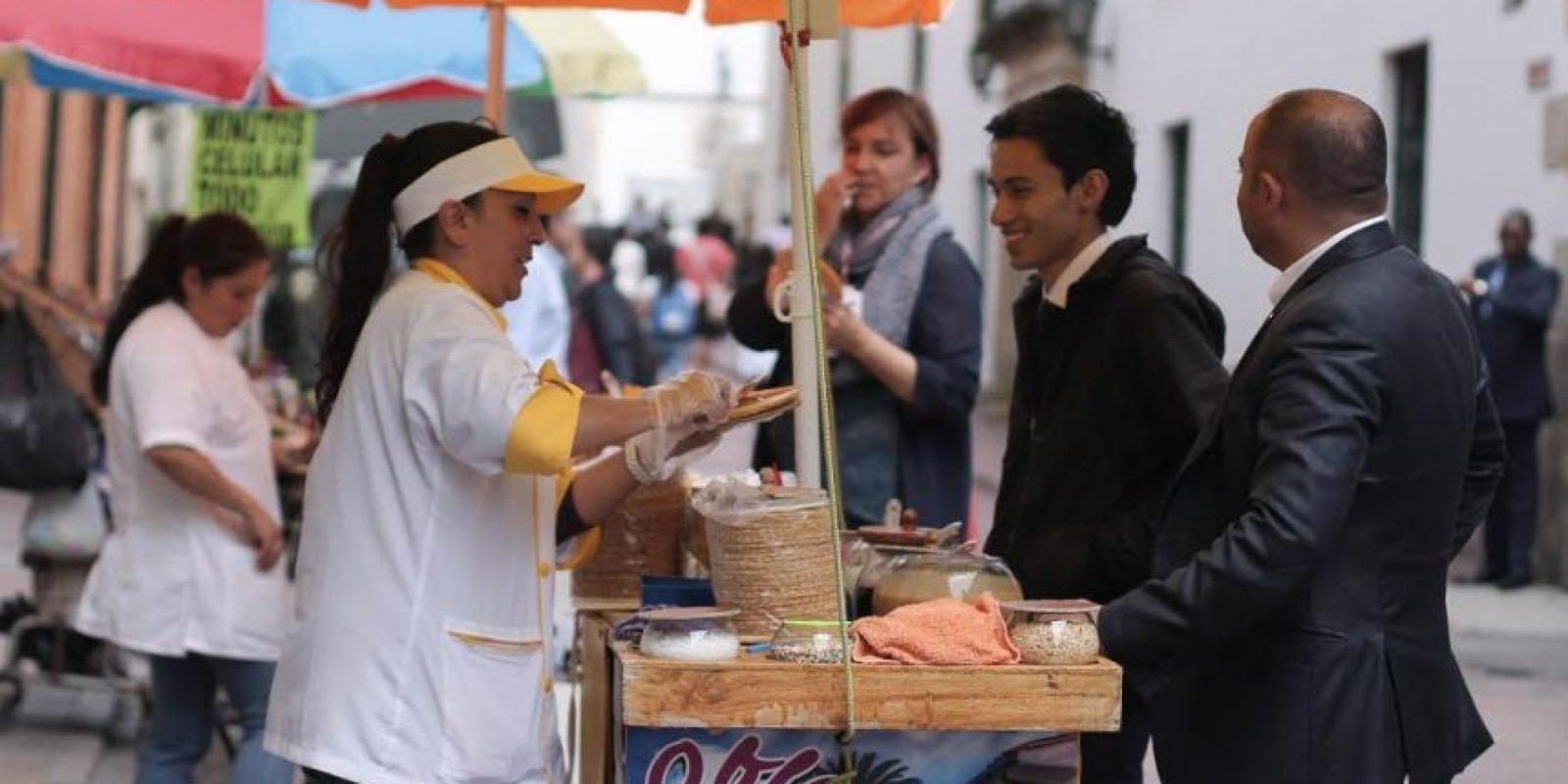 Asegura que las ventas se le han incrementado. Foto:Sofía Toscano. Publimetro