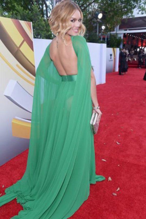 Porque el vestido tiene un corte clásico. Foto:vía Getty Images