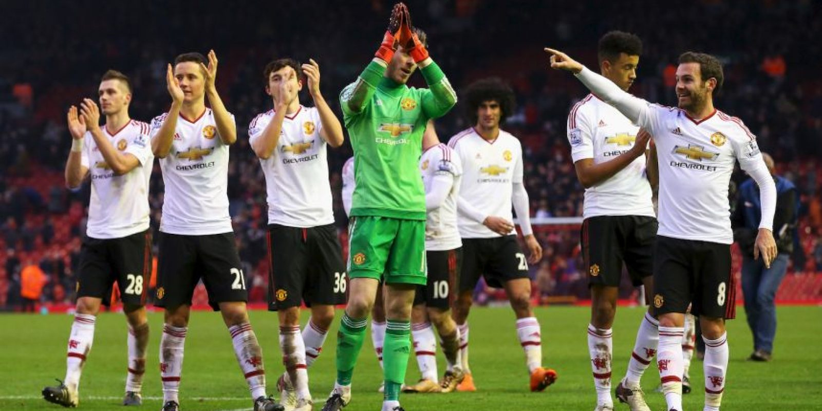En tanto, Manchester United se ubica en el quinto puesto Foto:Getty Images