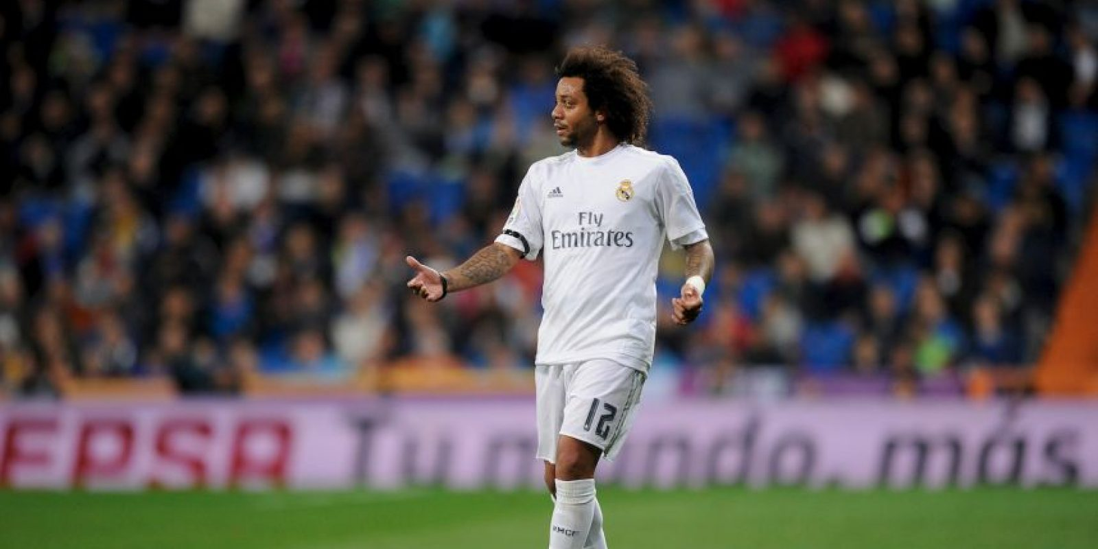 "Marcelo (Brasil). Tampoco estará con el ""Scratch"" Foto: Getty Images"