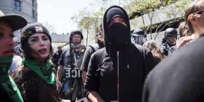 Imágenes de las protestas en contra de Donald Trump Foto:Getty Images
