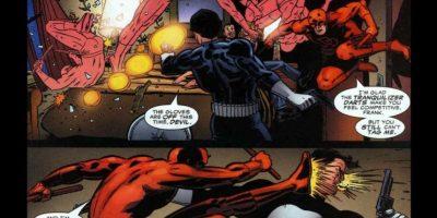 Combate el mal con métodos violentos y sangrientos. Foto:Marvel