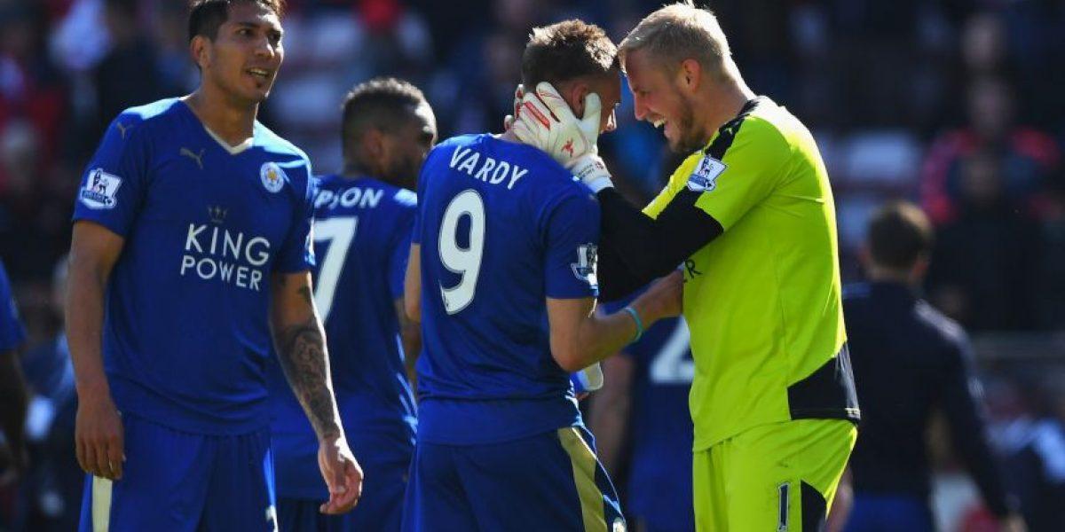 Premier League: Leicester empata con Manchester United y