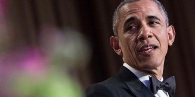 """Cuando ya no sea Presidente: """"Si este material funciona, lo usaré en Goldman Sachs el próximo año. Me ganaré algunos Tubmans"""". Foto:vía Getty Images"""