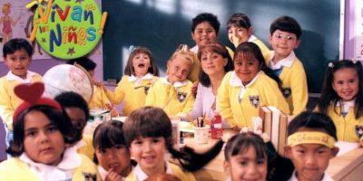 """Ella era la """"Maria Joaquina"""" de """"Vivan los Niños"""". Foto:vía Televisa"""
