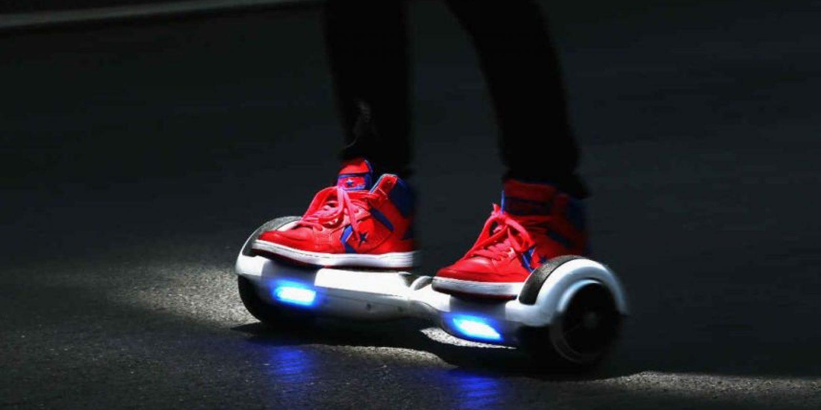 """Los """"Hoverboard"""" son una especie de patinetas. Foto:Getty Images"""