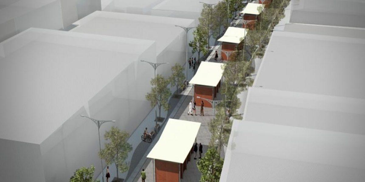 Así serán las nuevas vías peatonales que tendrá el Centro de Barranquilla