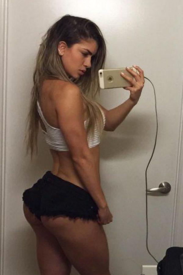 """La llamada """"Musa colombiana del fitness"""" Foto:Vía instagram.com/anllela_sagra"""