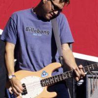 Estuvo con la banda +44. Sigue en Blink. Foto:vía Getty Images