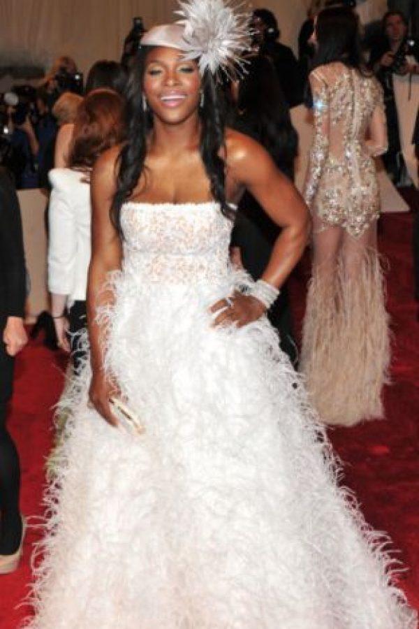 """Serena Williams en """"Tiana y el Sapo"""", pero sin su elegancia. Foto:vía Getty Images"""