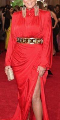 Kris Jenner el año pasado en una película de John Woo en los 80, pero nadie se vestía así. Foto:vía Getty Images