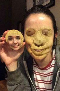 ¿Las galletas tienen cara? Snapchat dice que sí. Foto:Tumblr/cutetaurusgirl