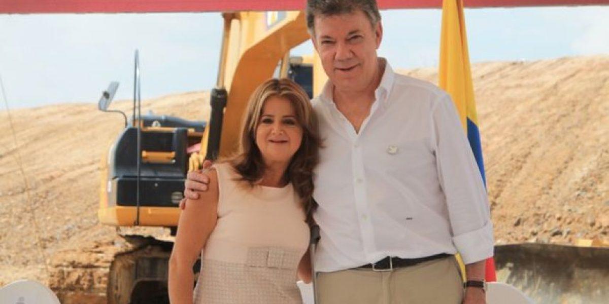 Santos posesionó a Elsa Noguera como Ministra de Vivienda en Barranquilla