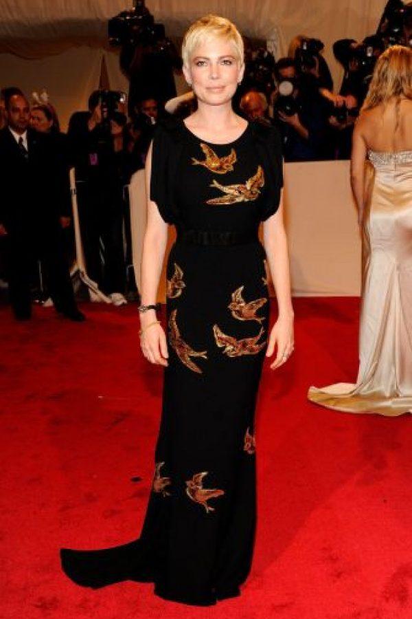 Michelle Williams en esta belleza oriental. Foto:vía Getty Images