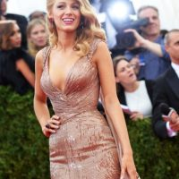 Blake Lively, old Hollywood. Foto:vía Getty Images